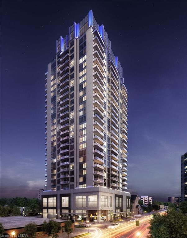 """<h3>$1,895<small> Monthly</small></h3><p>""""the Azure"""" - Premier Luxury In Downtown London, London , Ontario</p>"""